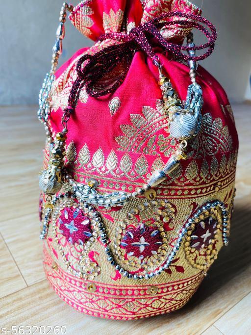 Banarasi stylish women potli