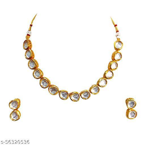 SARITA JEWELLERS Kundan Necklace Set