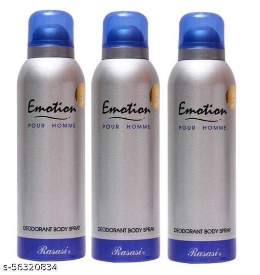 RASASI EMOTION BLUE PACK OF 3 DEODORANT