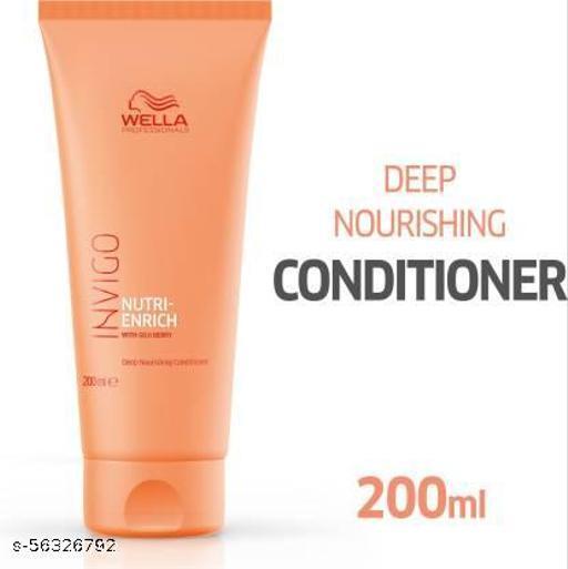 Wella Professionals INVIGO Nutri Enrich Deep Nourishing Conditioner (For Dry And Damaged Hair)  (200 ml)