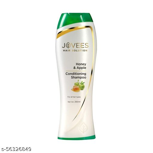 Jovees Herbal Honey & Apple Conditioning Shampoo For All Hair Types, 250 ml