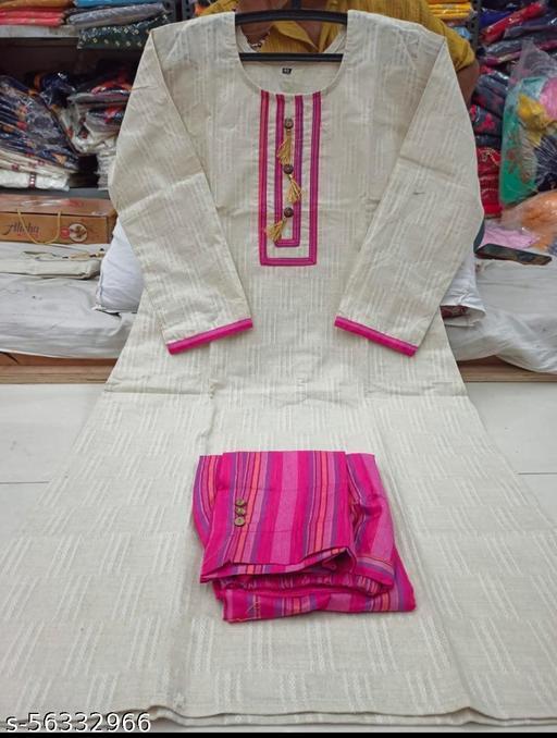 Kurti with trouser set