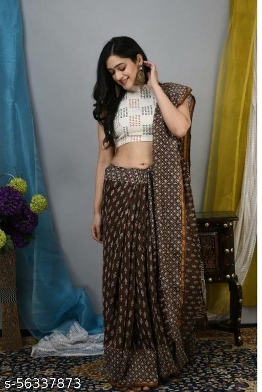 Ladies Designer Chanderi Cotton Saree