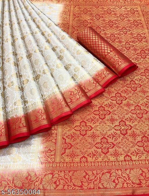 Women's Banarasi Silk Saree New Design 2021