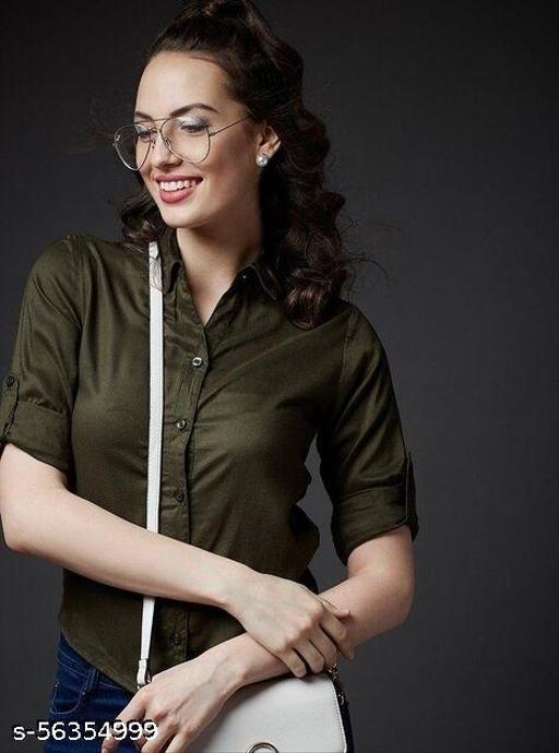 Syolo Women Stylish Rayon Shirt