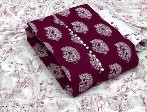 Classy Cotton Suit & Dress Material