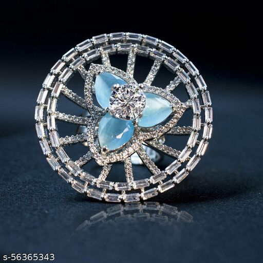 Cocktail CZ Rings S-LB
