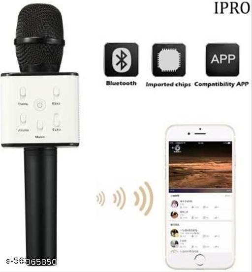 TECHGEAR  Wireless Bluetooth Karaoke Microphone Speaker Micgeek Q9 Microphone