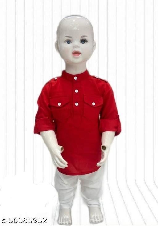 Kurta Pyjama Set for 0-1 years boy