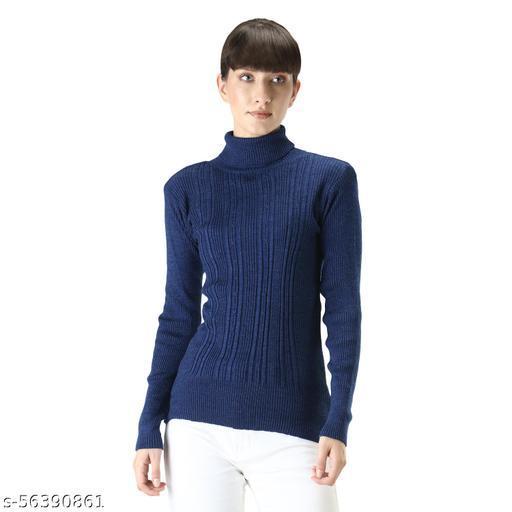 Knitco Women Pullover Skivi Sweater