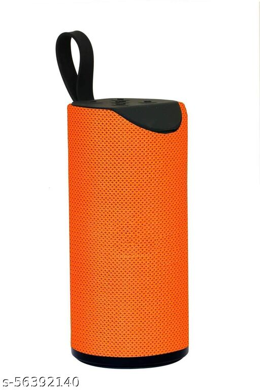 TG-113 Super Bass Splash - Proof Bluetooth Speaker Under 300 with Inbuilt Mic, USB, TF Card and AUX Slot Easily Connect with All Bluetooth Enabled Devices - ORANGE  Bluetooth Speakers