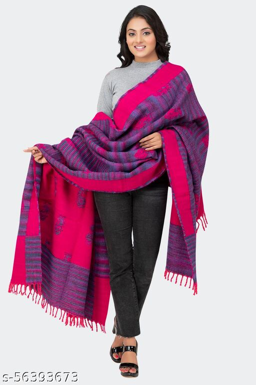 Universal Tibet Lama Shawl for Men's and Women's Large Size Heavy Winters