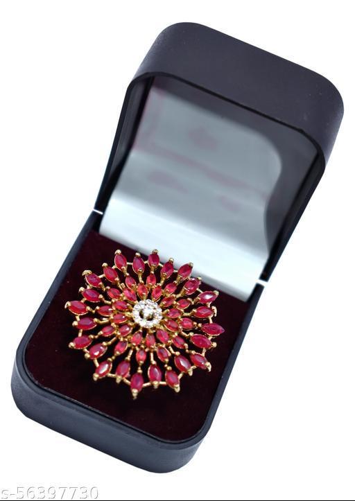 Designer Stone Finger Ring