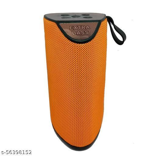 Wireless Speaker with Super Sound Quality and Super Bass Bluetooth Speaker (Orange)