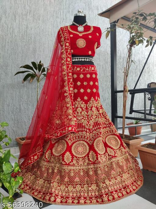 Krivity Bridal heavy embroidery lehenga choli
