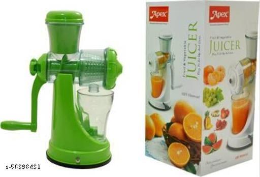 APEX Plastic Hand Juicer Smart  (Green Pack of 1)