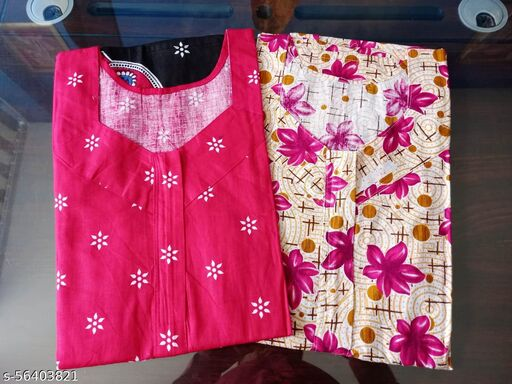 Pure Cotton Printed Nighty/NightGown/Night Dress