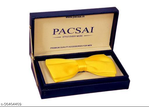 PACSAI Essentials Premium Cotton bowtie for Men-02