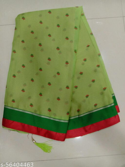 Georgette Printed Party Wear Saree With Blouse