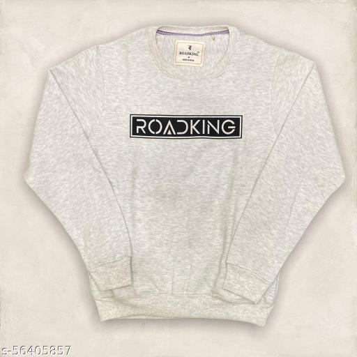 ROADKING Cotton Round Neck Sweatshirt