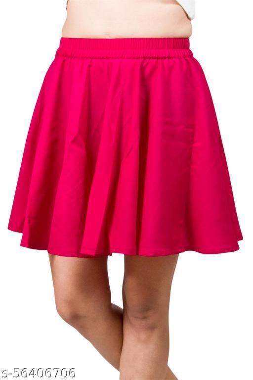 Trendy Simple Dimple Mini Umbrella Skirt