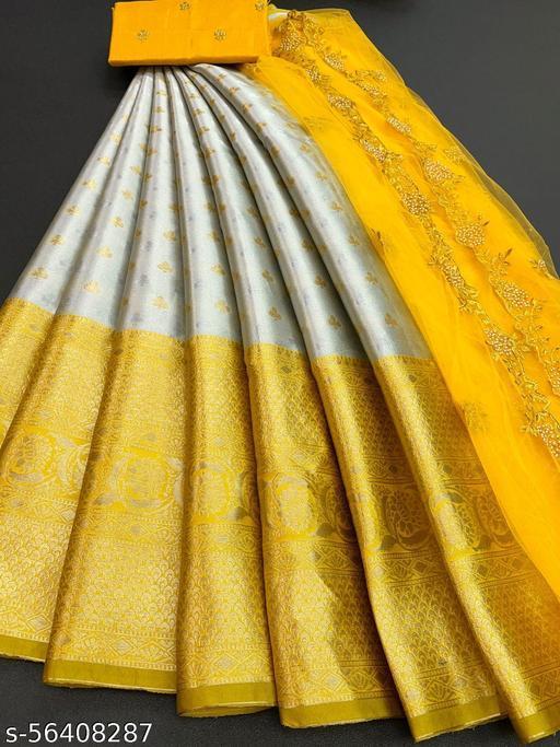 New Fully Yellow Color Lehenga
