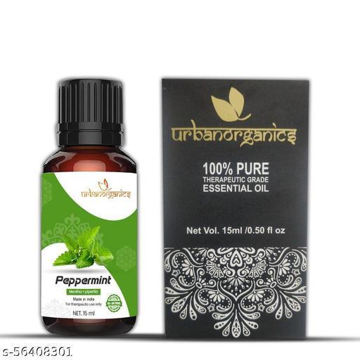 Urbanorganics Natural Pepper Mint Essential Oil (15 ml)