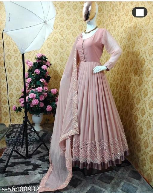 Exclusive Trendy Look Designer Gown