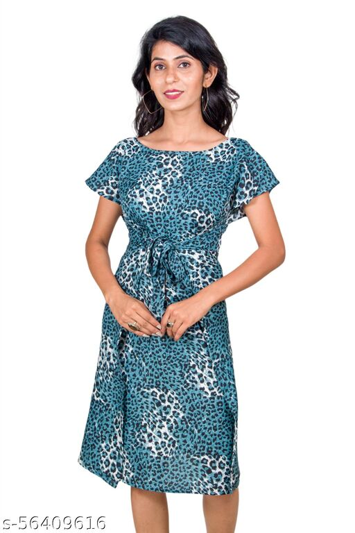 Kaftan style tie around comfortable wrap dress