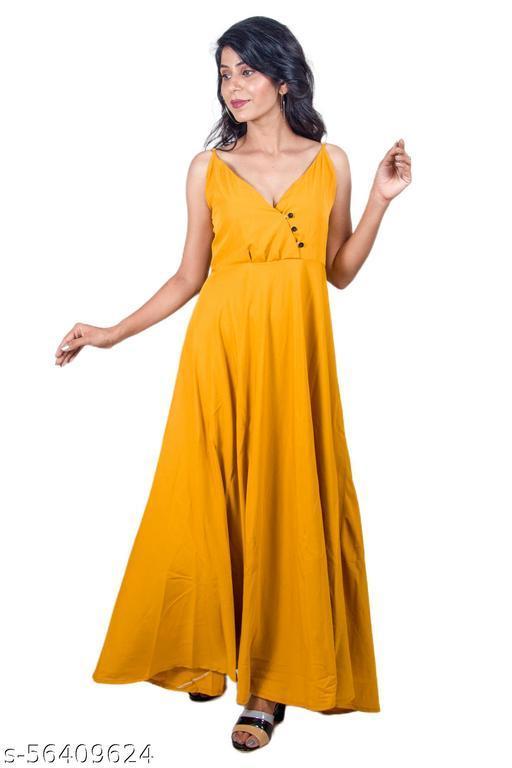 Trendy Designer Long Maxi Dress