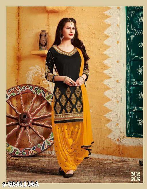 Alluring Sarees Voguish Trendy Suits & Dress Materials For Women