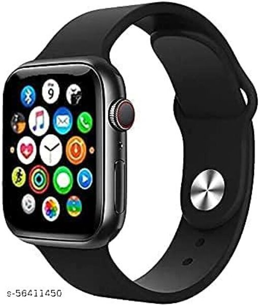 T55+ Smartwatch Series 6 with Bluetooth Calling, 50+ Wallpapers, Heart Rate Monitor, Fitness Tracker Smart Watches