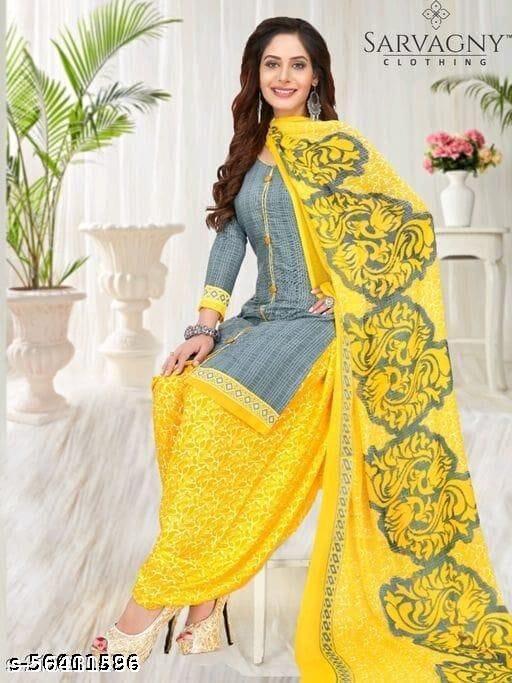 Dhaneshwari Textile Voguish Trendy Suits & Dress Materials For Women