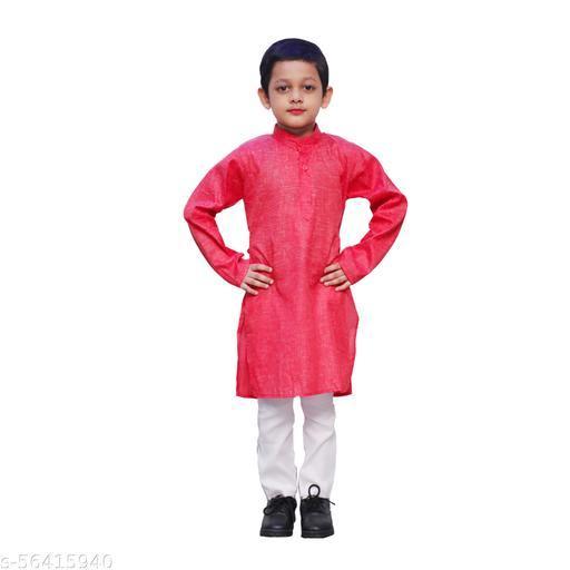 ITSMYCOSTUME Cotton Kurta Pyjama Set For Boys Kids