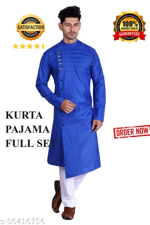 Fancy Designer Festive Kurta Pajama(Churidar) Full Set