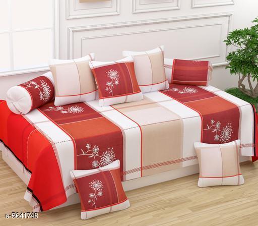 Super Soft Glace Cotton Diwan Set