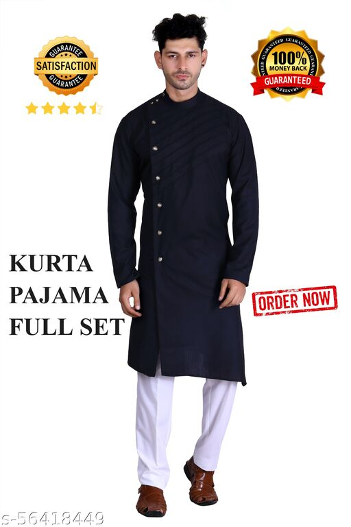 Fancy Kurta and Pajama(Churidar) Full Set