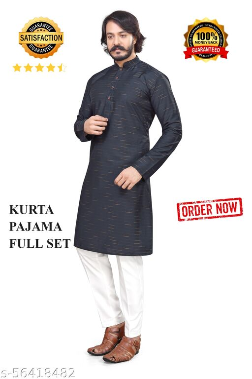 Men's Stylish Pain Kurta Pajama Set