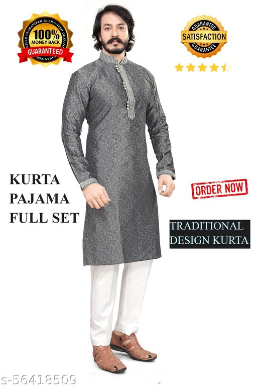 Traditional Fancy Designer Kurta Pajama(Churidar)  Full Set