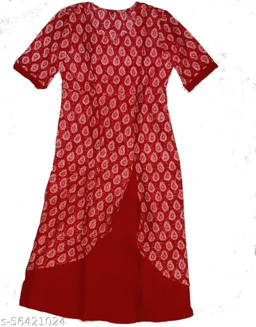 GARARA KURTI NEW DESIGN (RED)