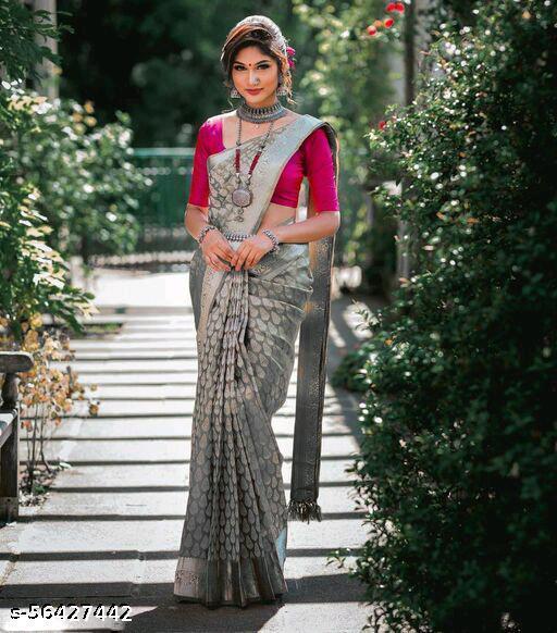 Trendy Jacquard Saree