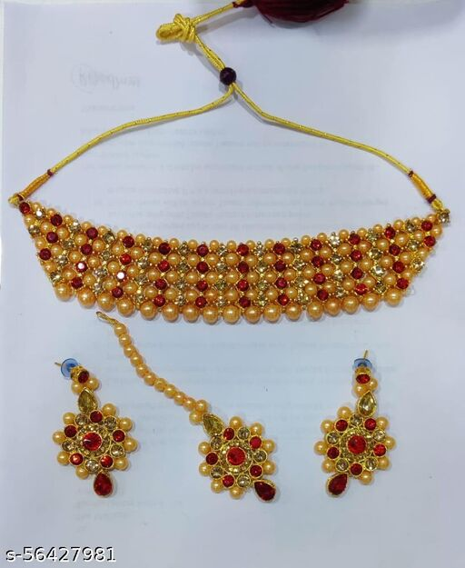 KAYAA TRADITIONAL  NECKLACE SET FOR WOMENS & GIRLS