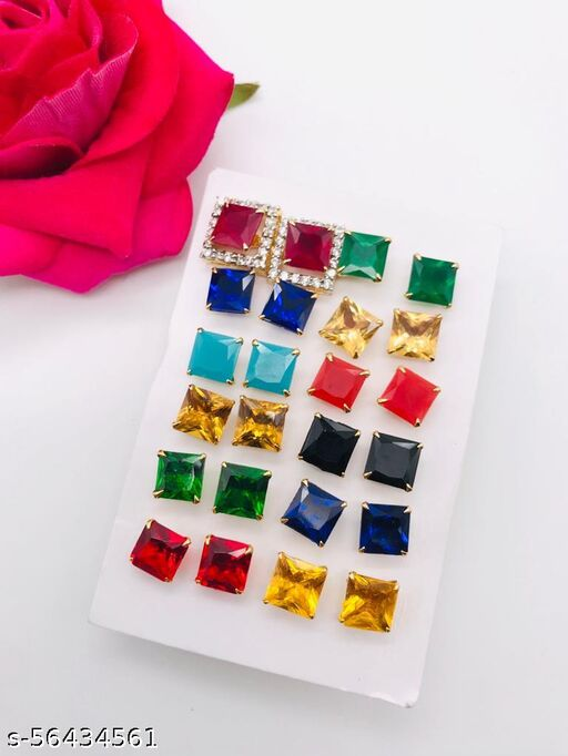 Diva chick multycolor earring