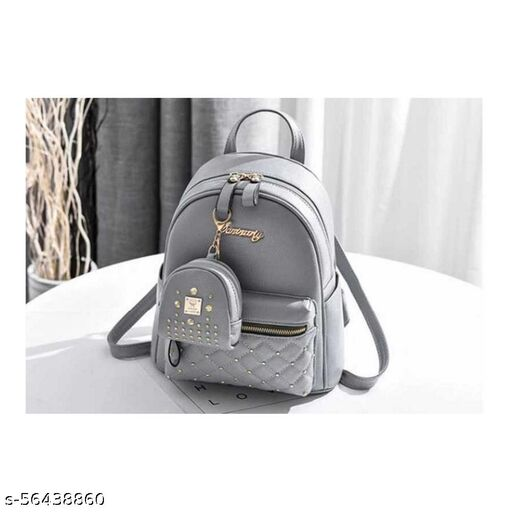 Grey color Trendy and Stylish Handbag for Girls for Teachers / College / Fund / Study / Office use