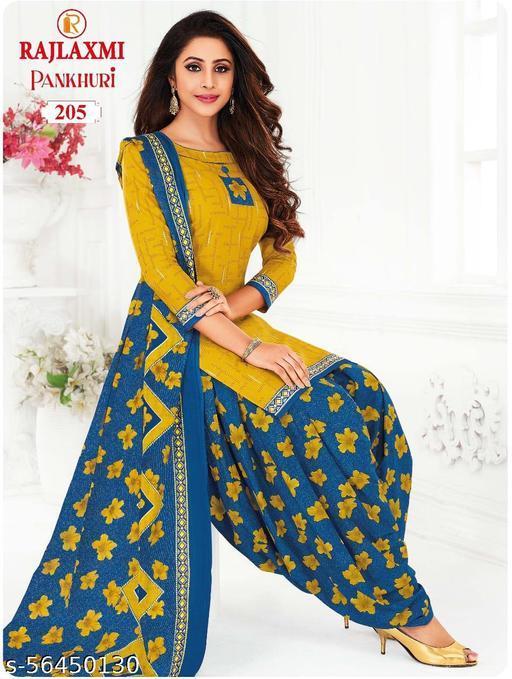 Shree Shan Pure Cotton Un-Stitched Suit