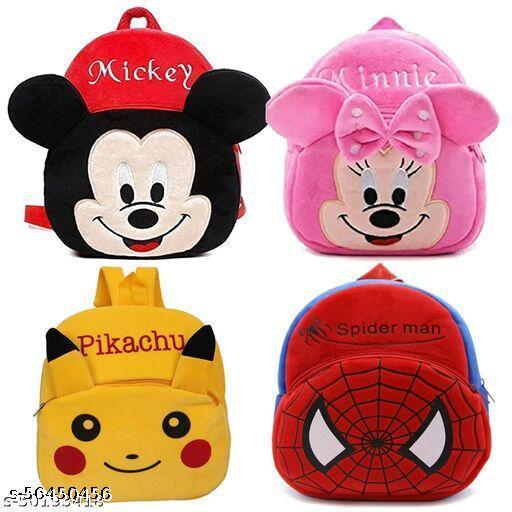combo of 4 bagpacks for childrens