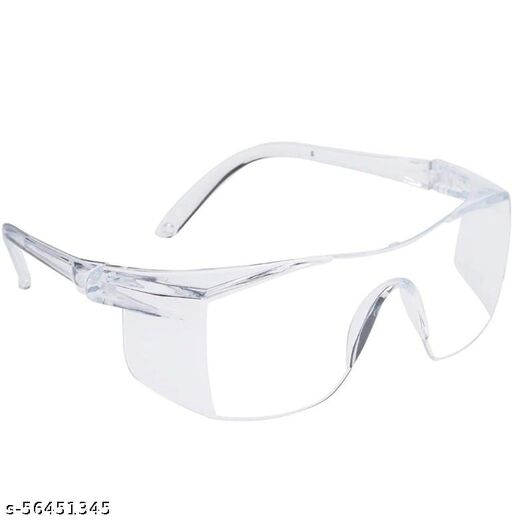 Eye Protection Polycarbonate Lightweight Men's and Women's Safety Goggle ( Clear )