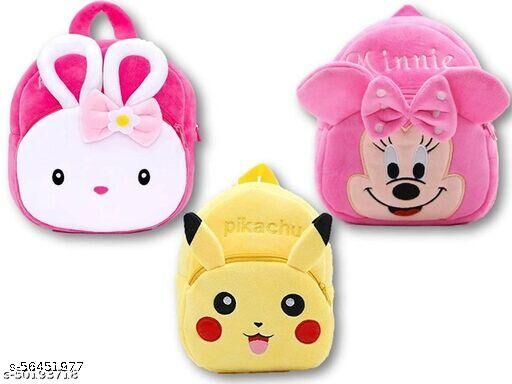 combo of 3 unique bags for childrens