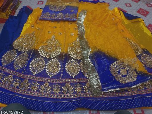Rajputi Humrahi Pure Poshak Lehenga