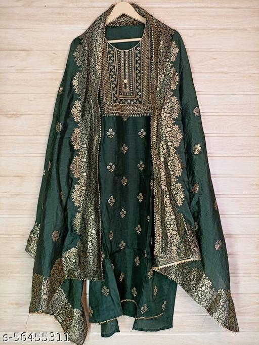 Adrika Graceful Semi-Stitched Suits